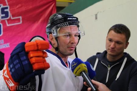 Foto a video: Exibičný hokejový zápas MšHK Bulldogs Prievidza a hviezdy NHL a Slovenska 73