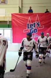 Foto a video: Exibičný hokejový zápas MšHK Bulldogs Prievidza a hviezdy NHL a Slovenska 82