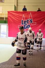 Foto a video: Exibičný hokejový zápas MšHK Bulldogs Prievidza a hviezdy NHL a Slovenska 86