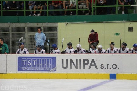 Foto a video: Exibičný hokejový zápas MšHK Bulldogs Prievidza a hviezdy NHL a Slovenska 91