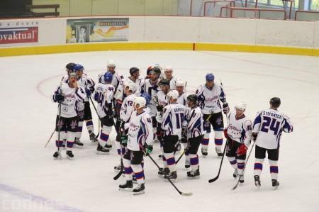 Foto a video: Exibičný hokejový zápas MšHK Bulldogs Prievidza a hviezdy NHL a Slovenska 100