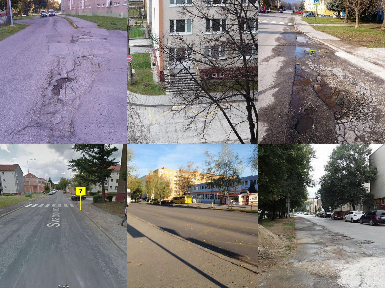 Rekonštrukcie ciest a chodníkov 2019