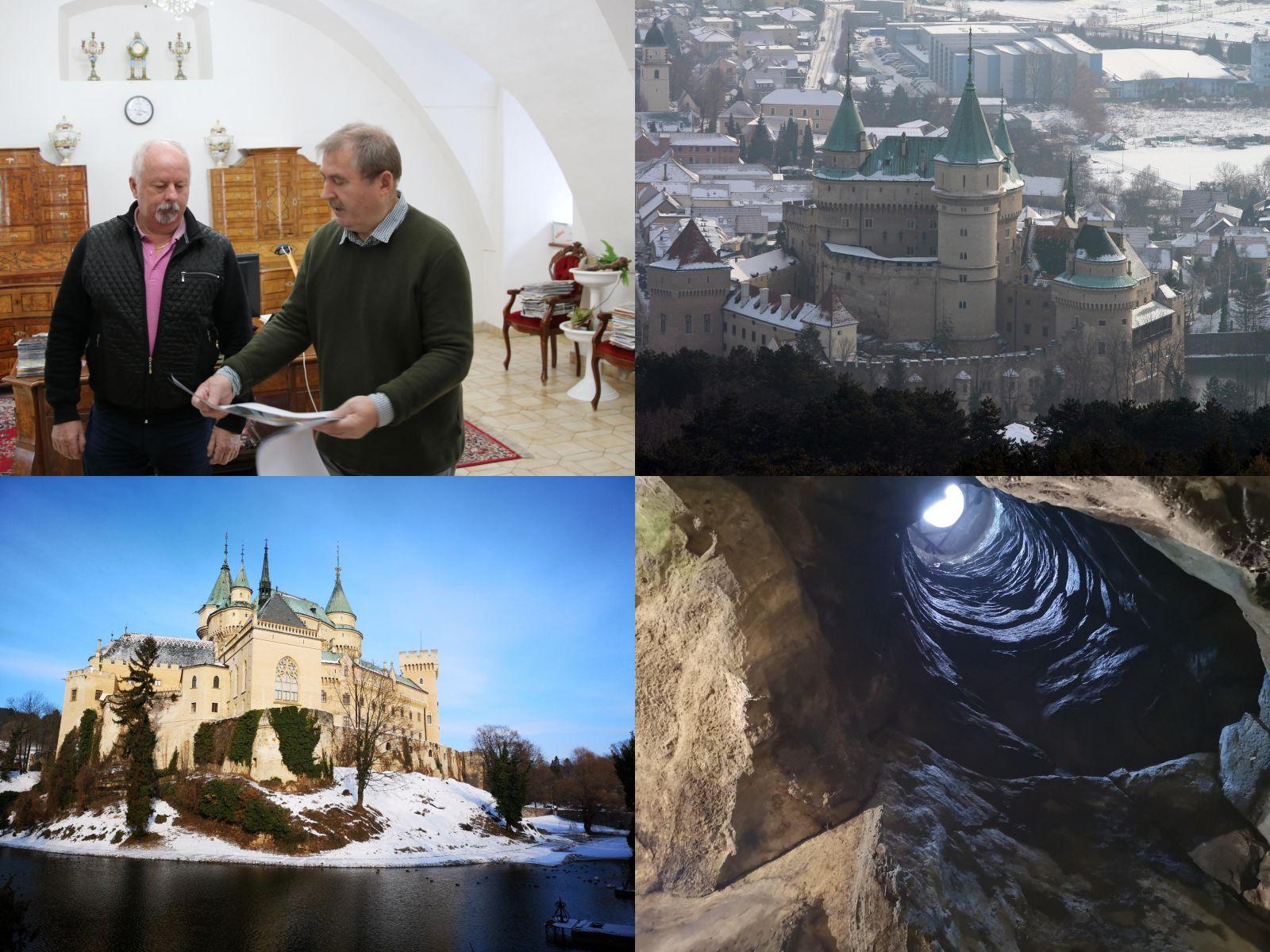 Foto a video: Bojnický zámok skrýva tajomstvá. Odkiaľ a kam vedie tajná chodba?