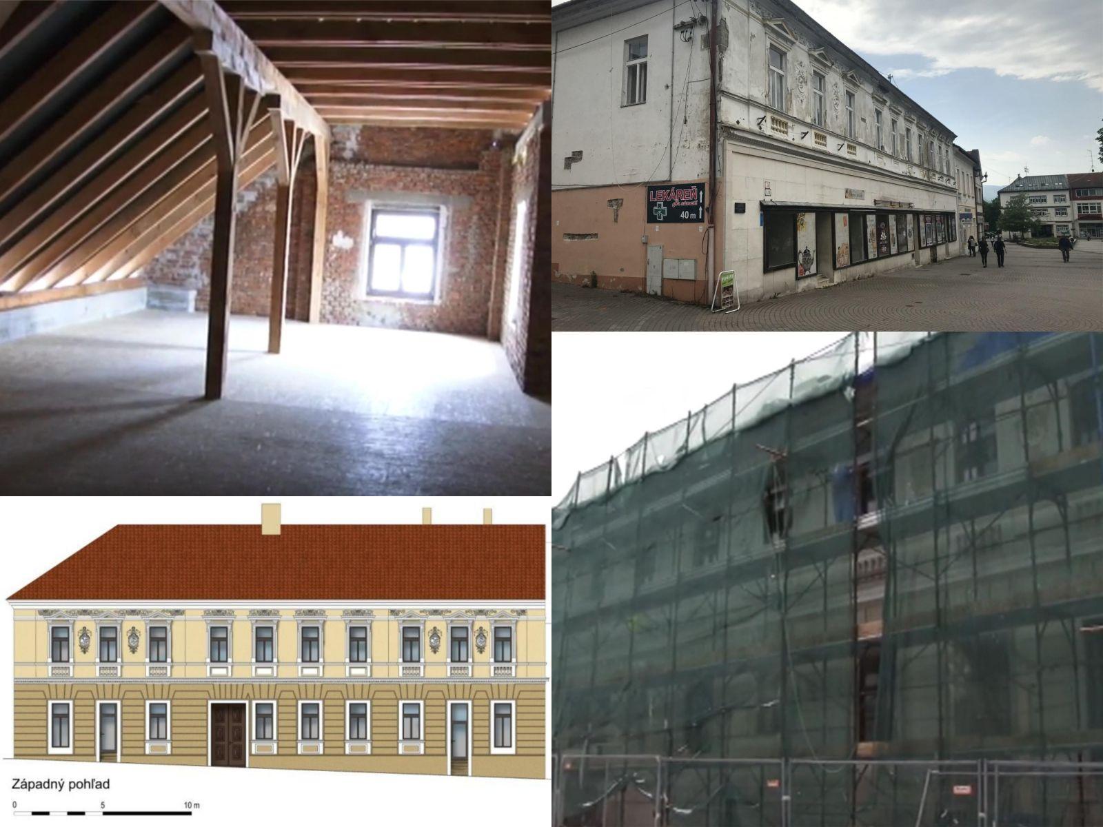 meštiansky dom rekonštrukcia