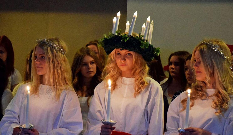 slovenske zvyky Lucia