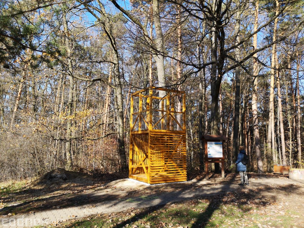 Vstup do lesoparku skrášľuje nový multifunčný objekt