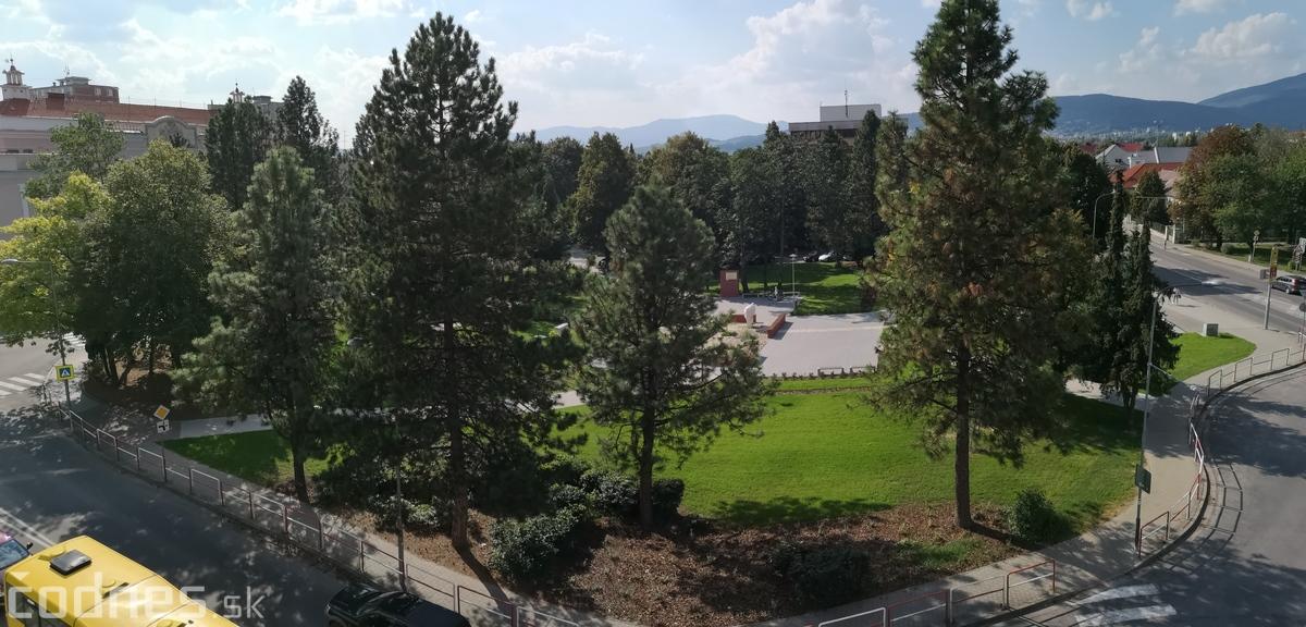 Foto: Park pred úradom práce dokončený