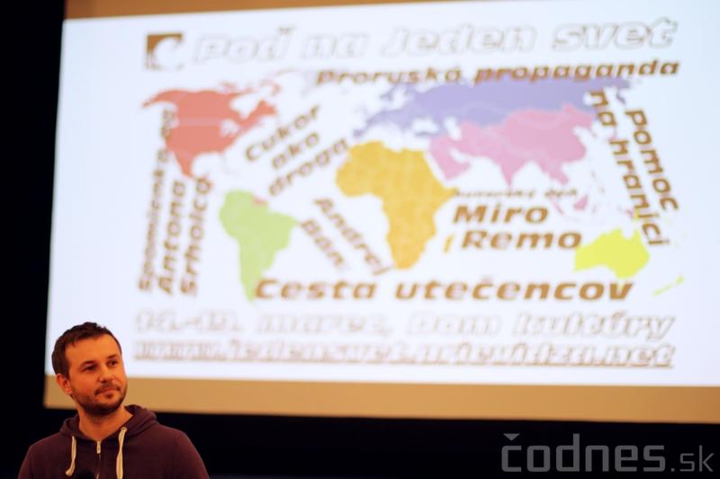 COOLTÚRA - Miro Remo - Diskusia po testovacej projekcii - Jeden svet Prievidza 2016