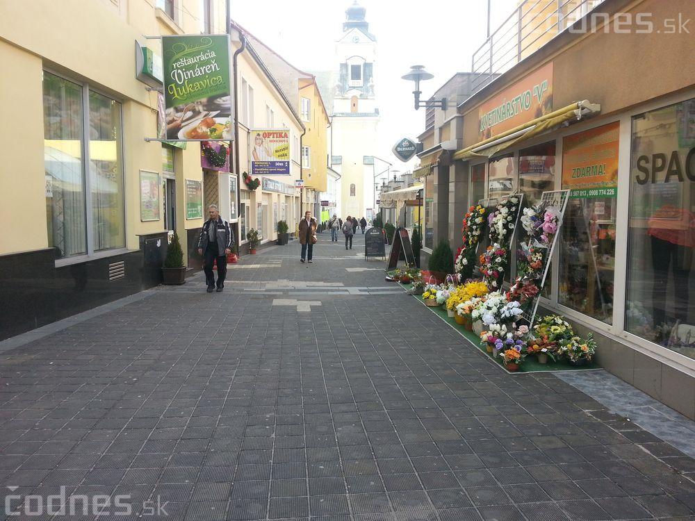 Výmena dlažby pri Vtáčniku na ulici Štefana Moyzesa