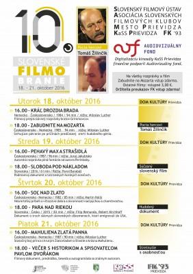 10. Slovenské filmobranie