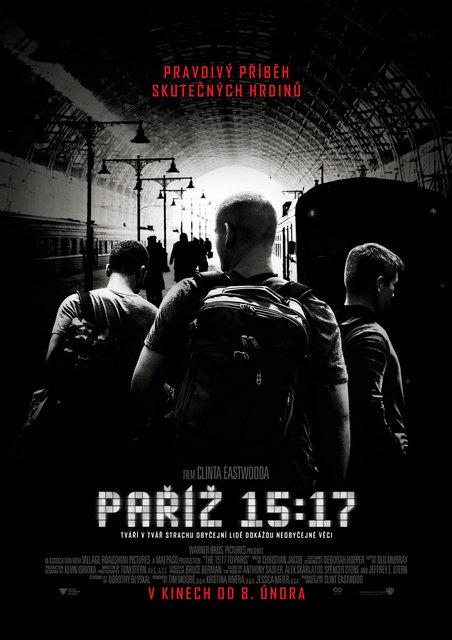 15:17 Paříž (The 15:17 to Paris)