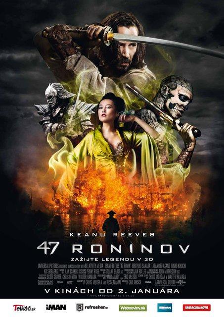 47 roninov 3D (47 Ronin)