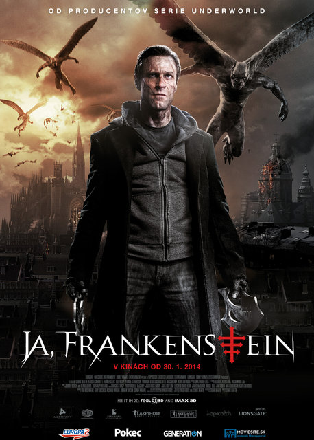 Ja, Frankenstein 3D (I, Frankenstein)