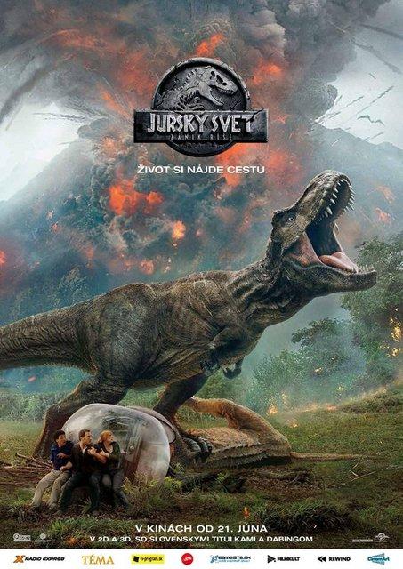 Jurský svet: Zánik ríše (ST) 2D (Jurassic World: Fallen Kingdom)