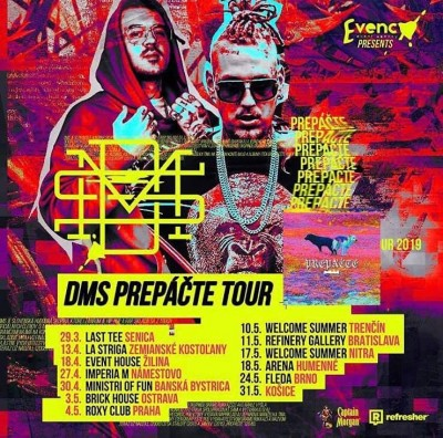 DMS Prepáčte tour 13.4. Lastriga club