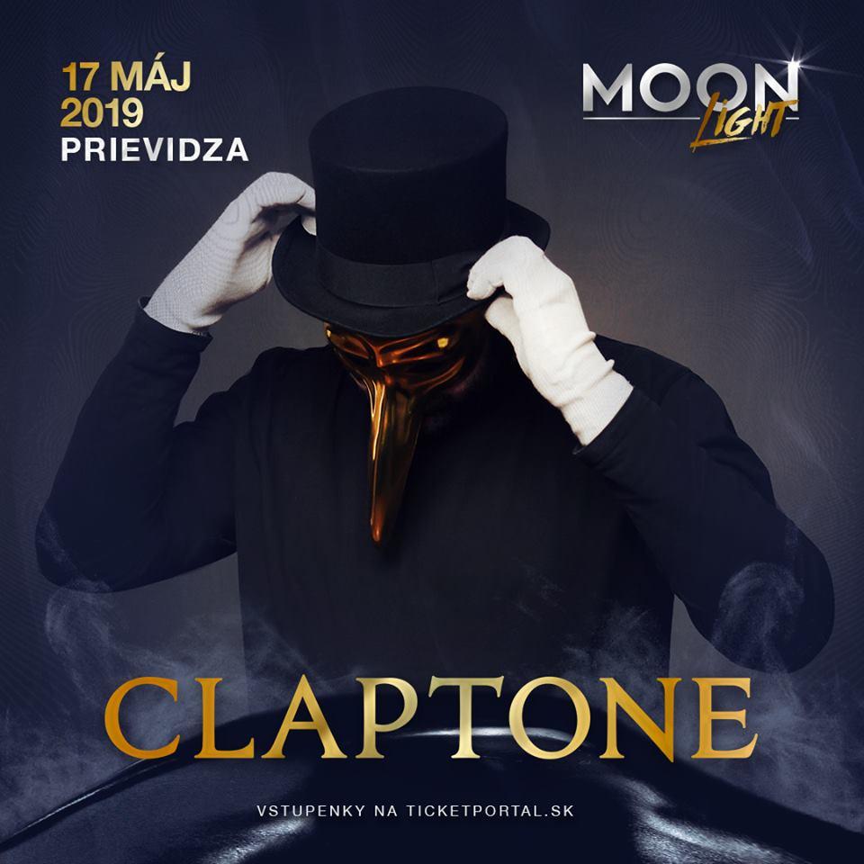 Je pre nás veľkou cťou predstaviť vám hlavného hosťa Moonlight 2019! Je ním mystická bytosť skrývajúca sa za maskou Claptone