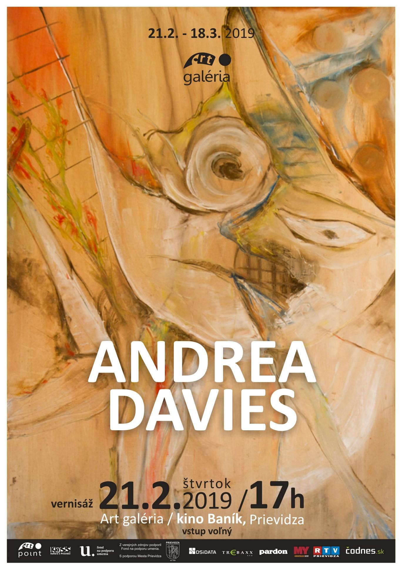 Andrea Davies - výstava