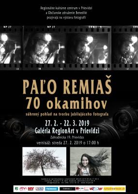 Paľo Remiaš - 70 okamihov