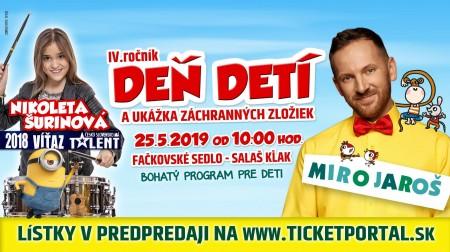 4.ročník Deň detí s Mirom Jarošom 0