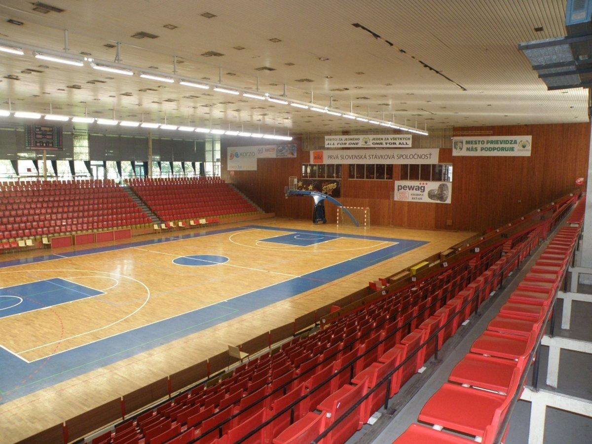 City Nike Arena - Športová hala Prievidza