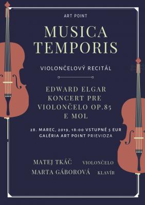 MUSICA TEMPORIS - violončelový resitál