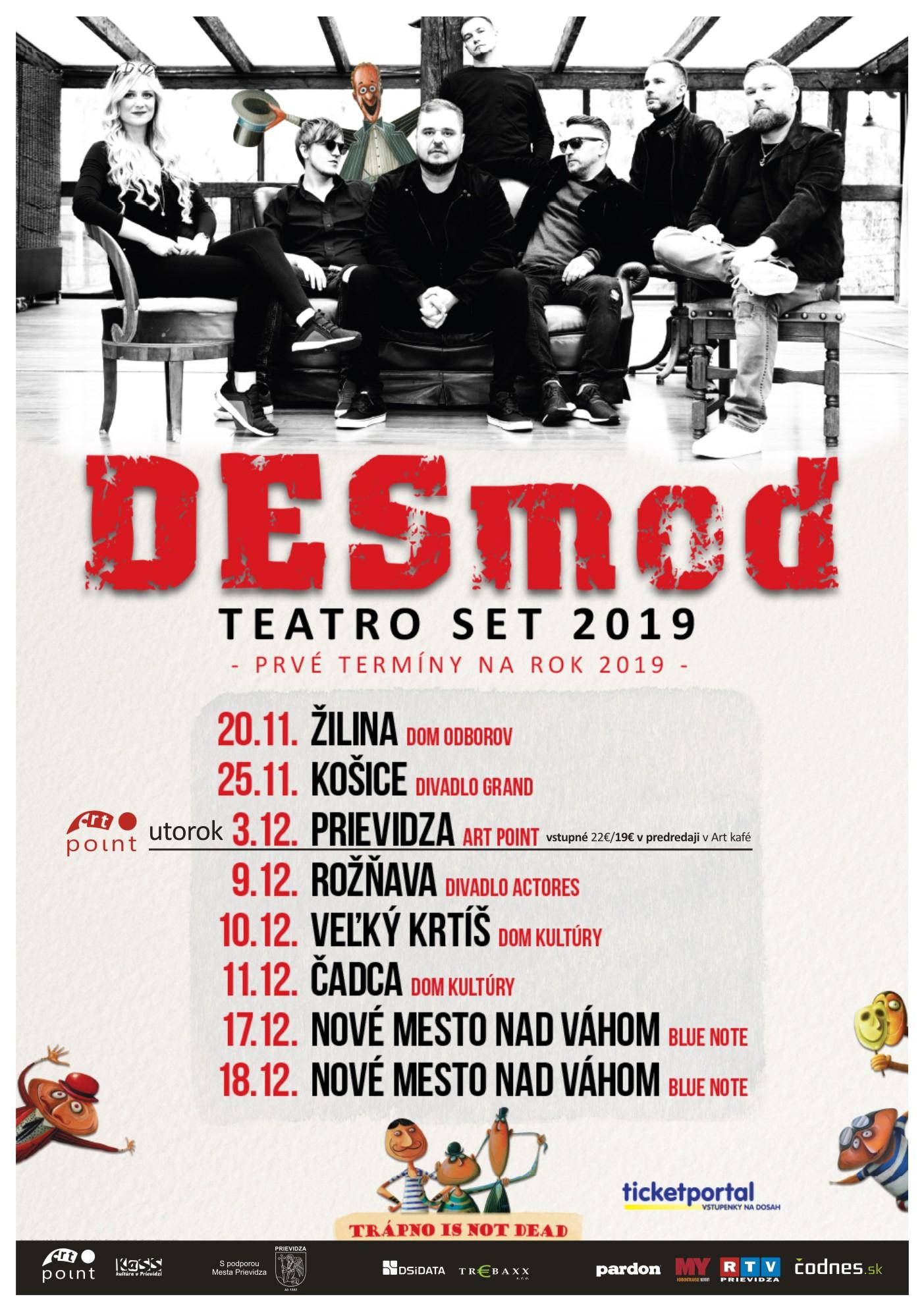 DESMOD - Teatro set