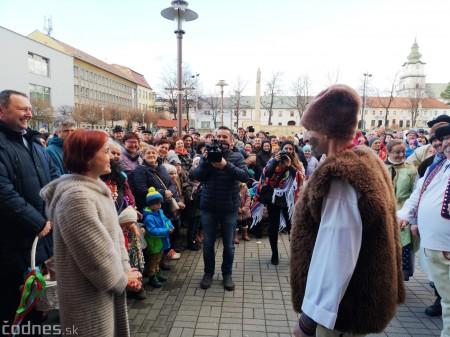 Foto: Fašiangový sprievod mestom a pochovávanie basy 24
