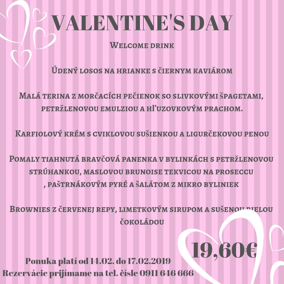 Valentínske dni v Penzióne Sivý Kameň***