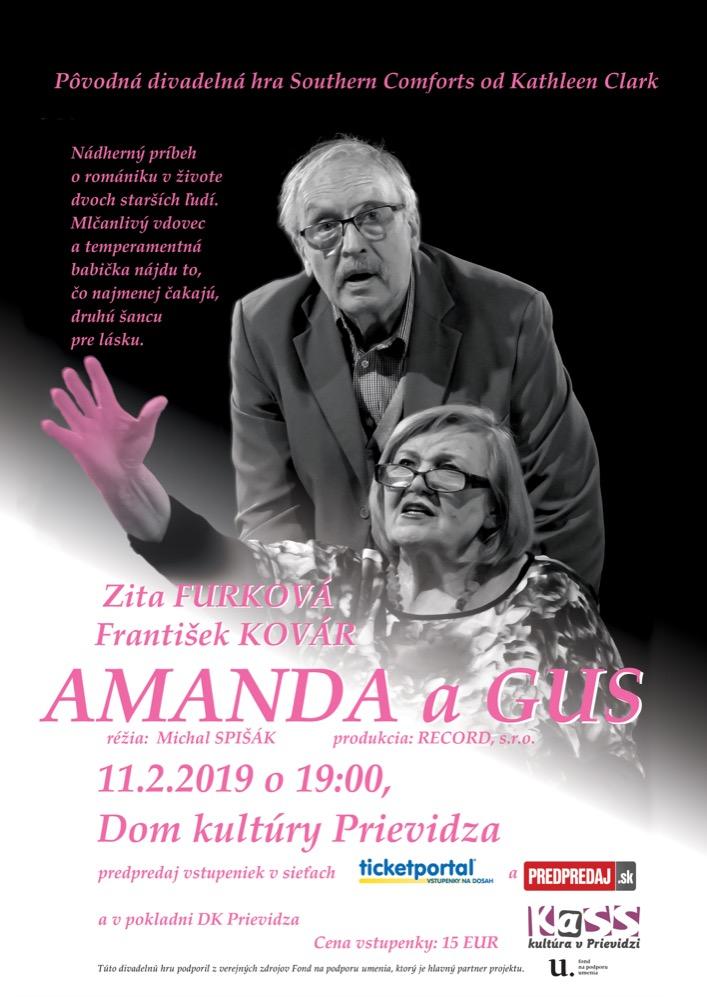 Amanda a Gus