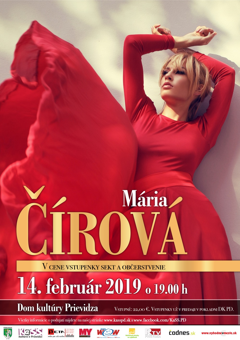 Koncert Márie Čírovej