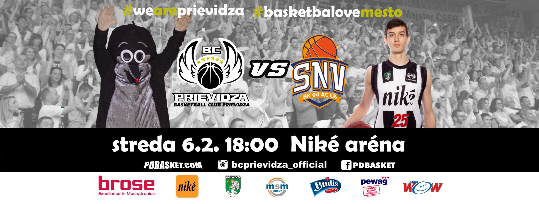 BC Prievidza - BK 04 AC LB Spišská Nová Ves