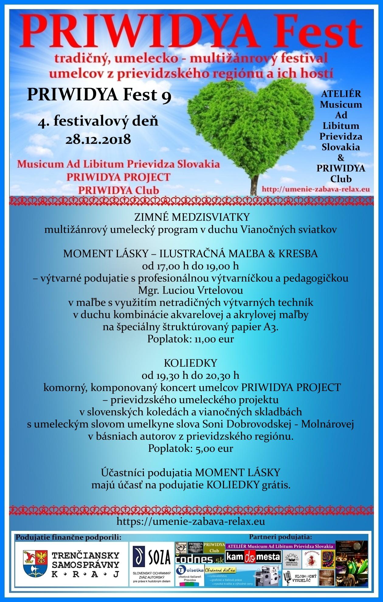 PRIWIDYA Fest 9 - tradičný, umelecko - multižánrový festival