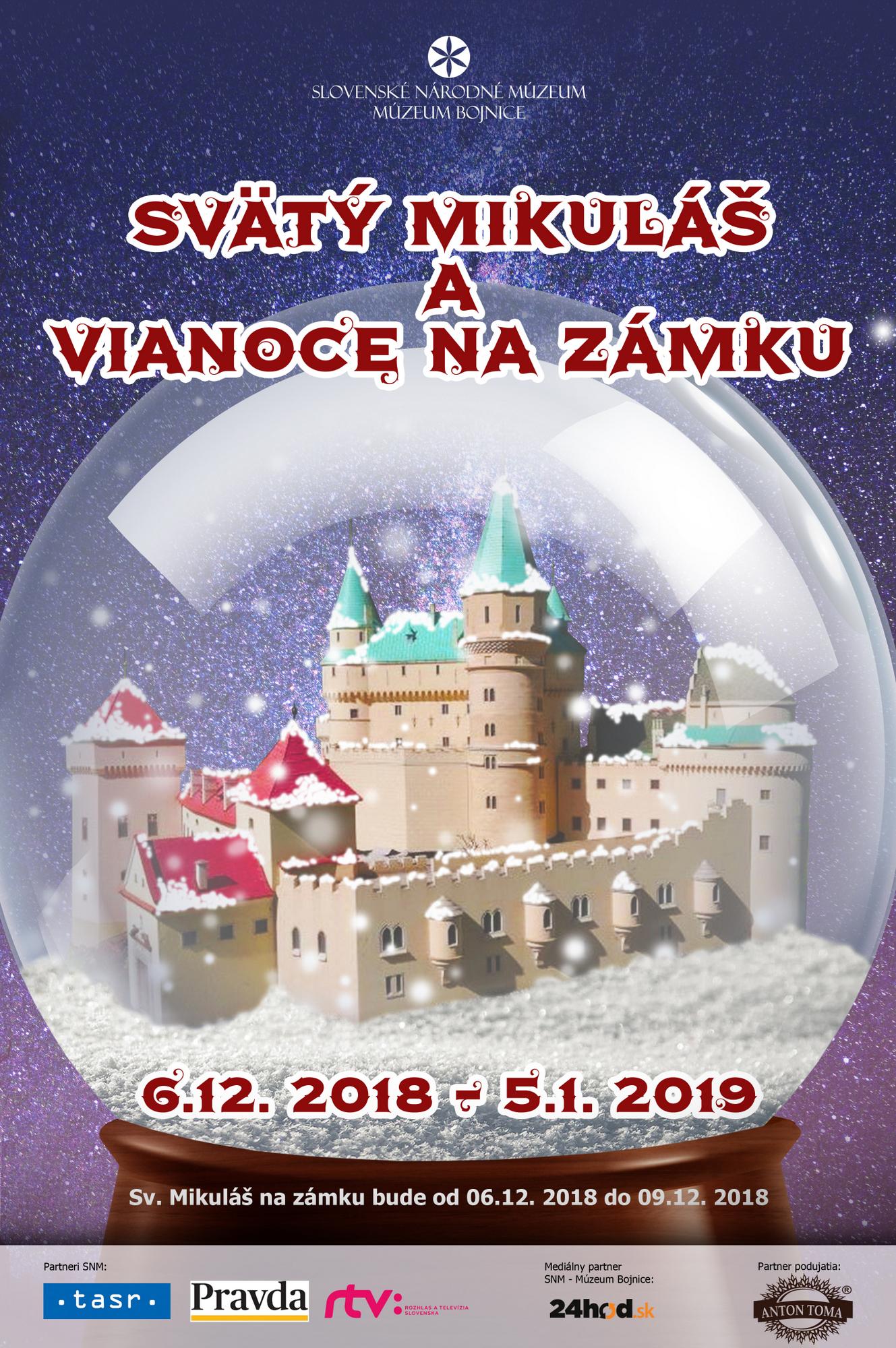 Vianoce na Bojnickom zámku 2018