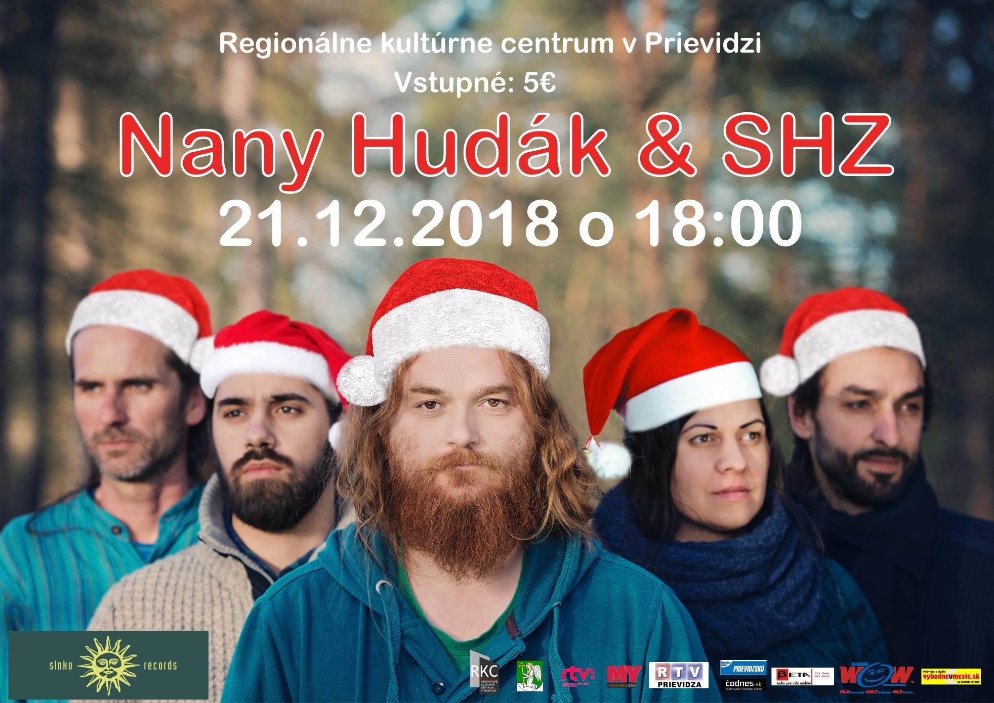 Koncert Nany Hudák & SHZ