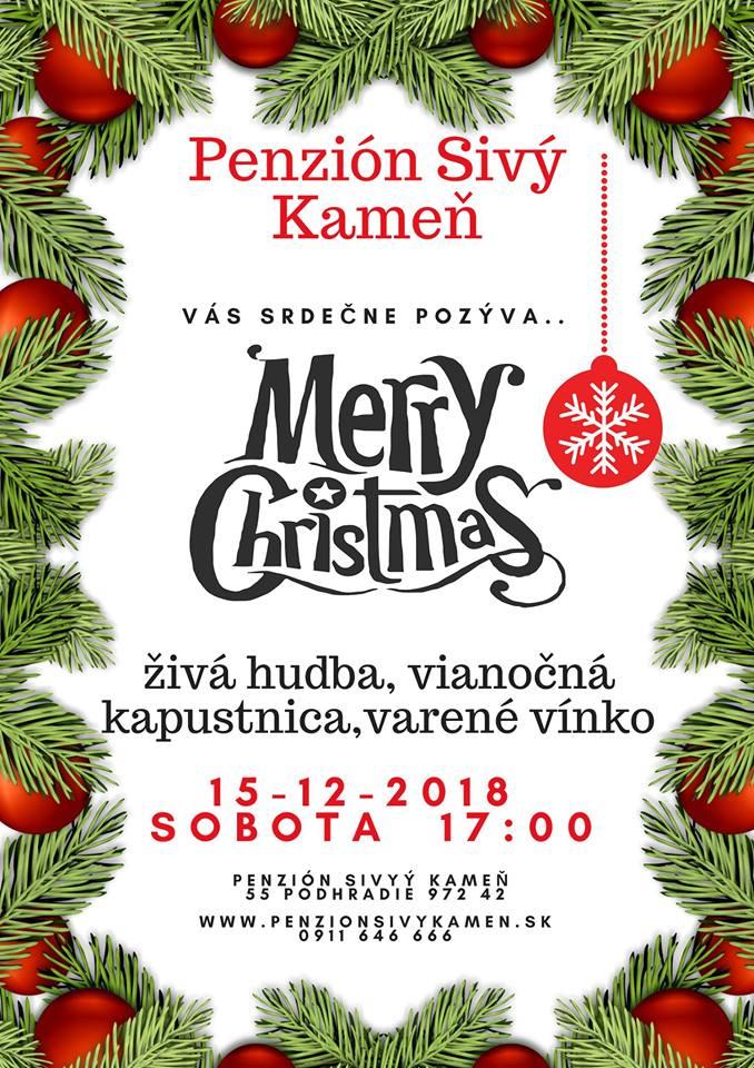 Vianoce s cimbalovkou v Penzióne Sivý Kameň