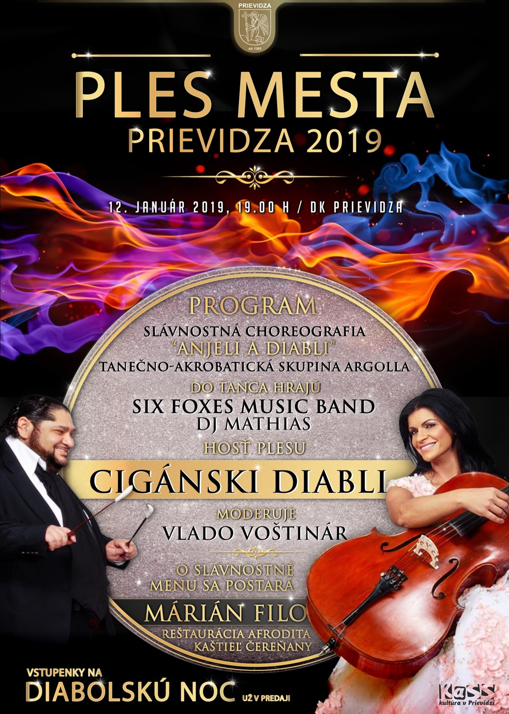 Ples mesta Prievidza 2019