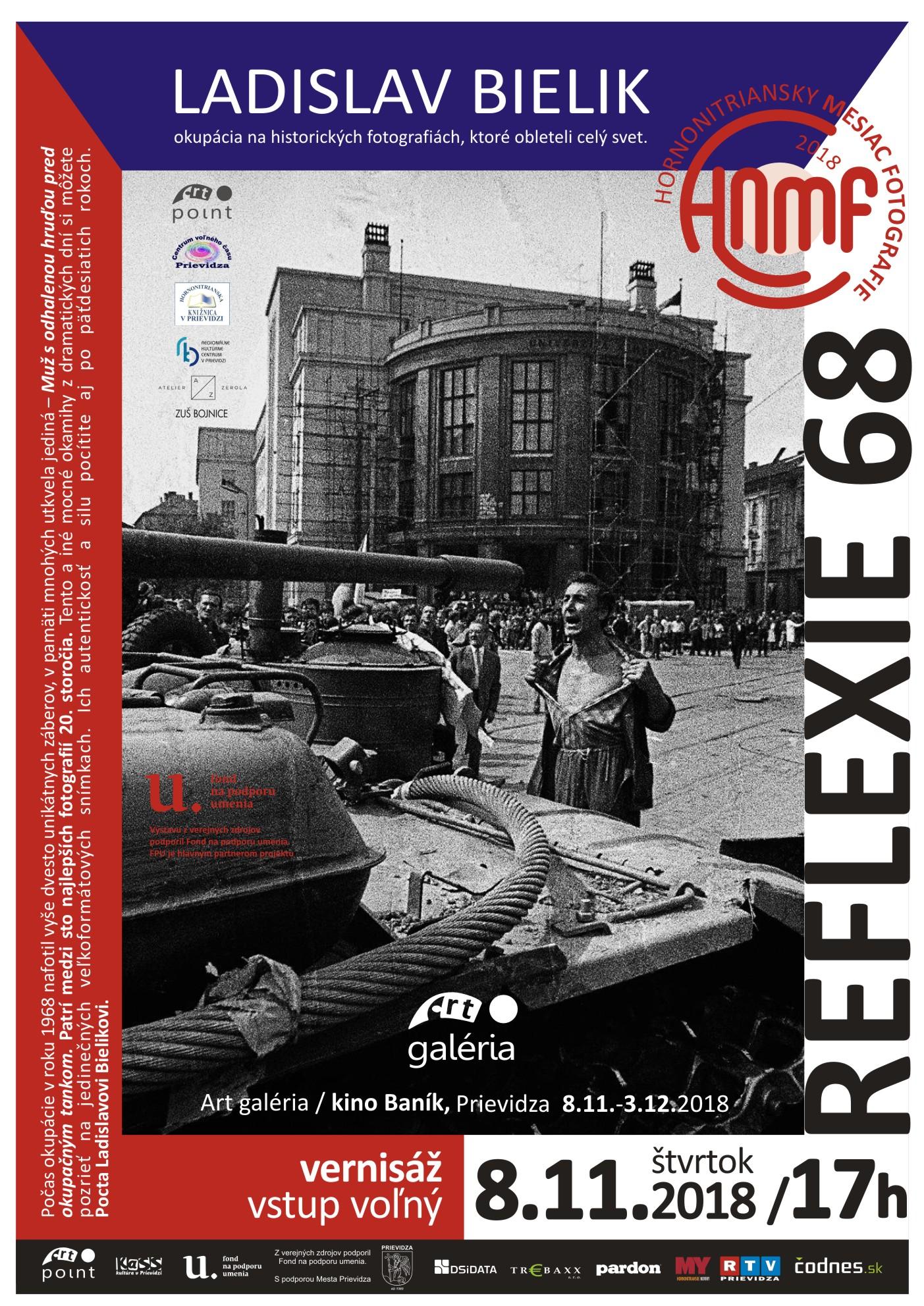 Reflexie 68 - Ladislav Bielik /Hornonitriansky mesiac fotografie