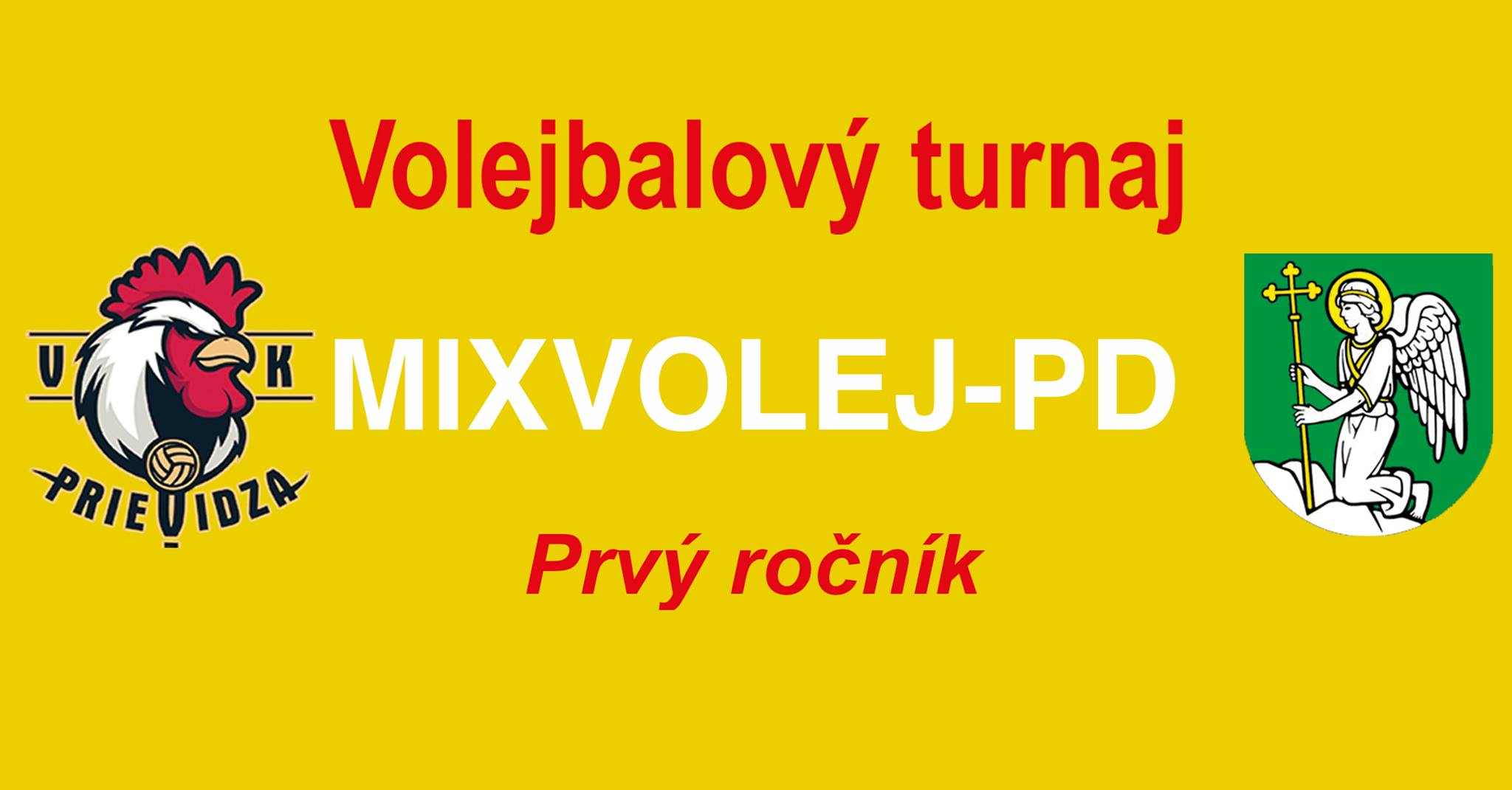 Volejbalový turnaj v mixoch o pohár primátorky mesta Prievidza