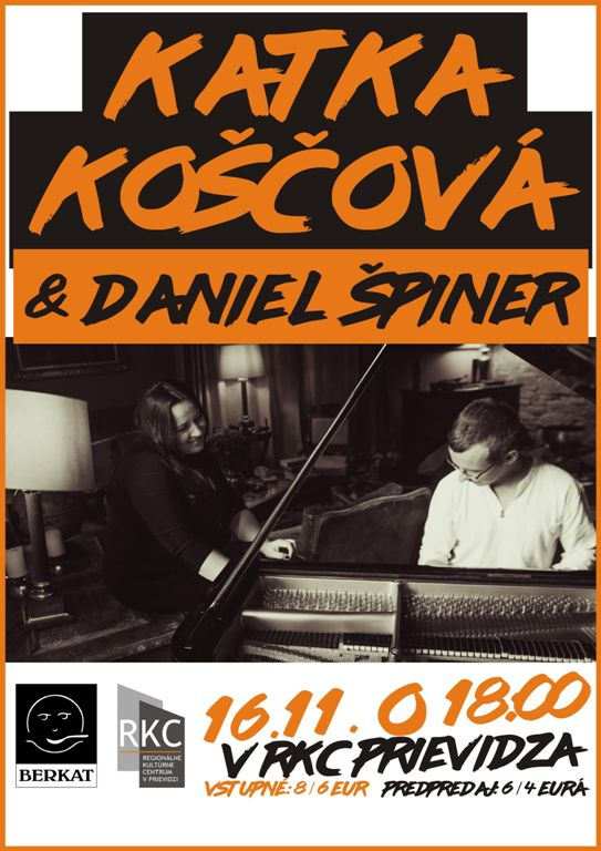 Koncert Katky Koščovej a Daniela Špinera