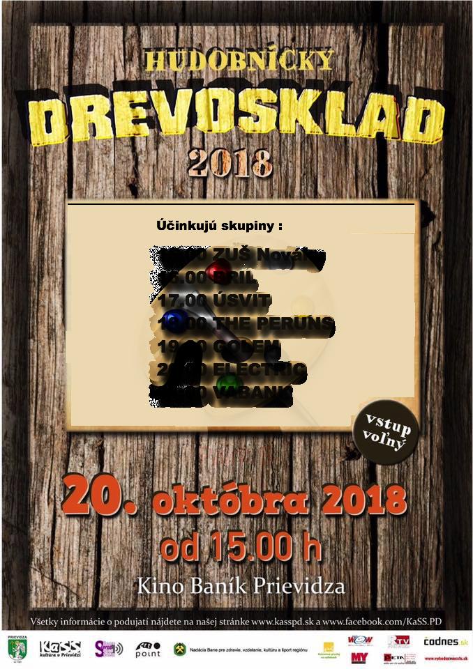 Hudobnícky Drevosklad 2018