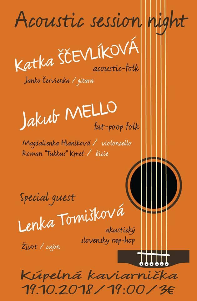 Koncert Katka Ščevlíková a Jakub Mello