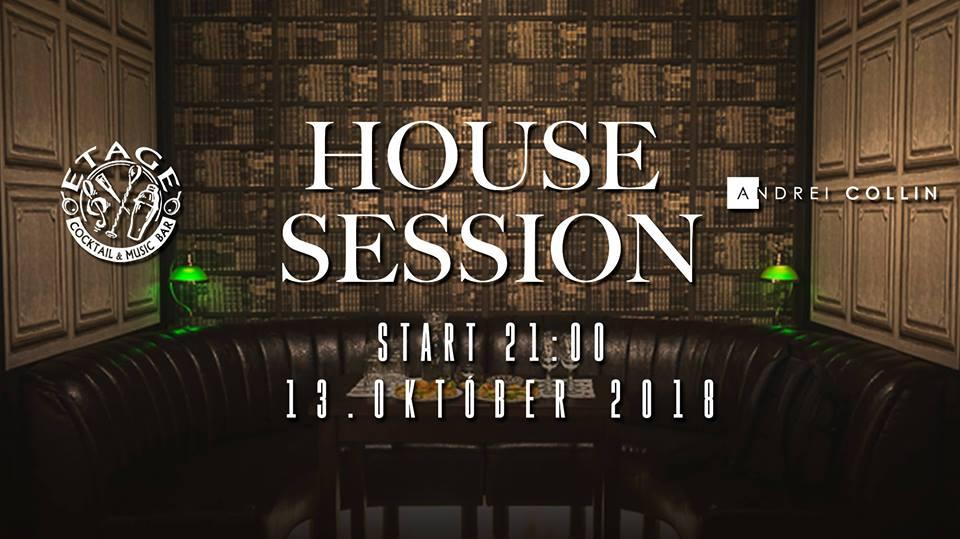 HOUSE Session Etage cocktail & music bar
