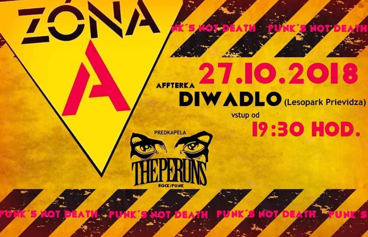 ZÓNA A + The Peruns @Diwadlo