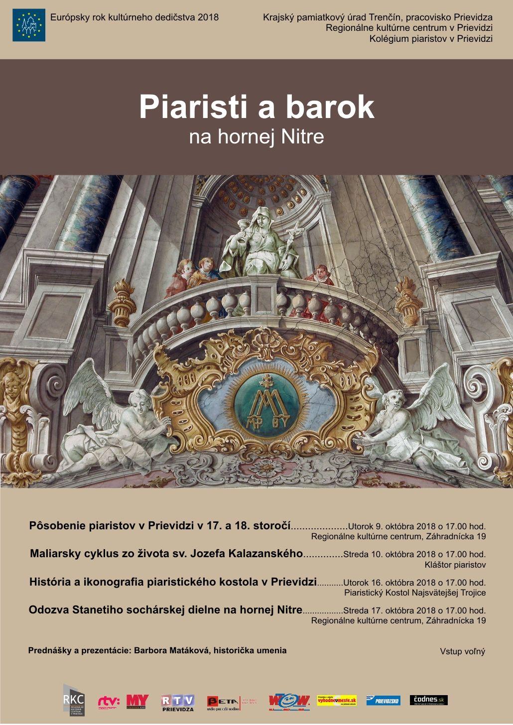 Piaristi a barok na hornej Nitre