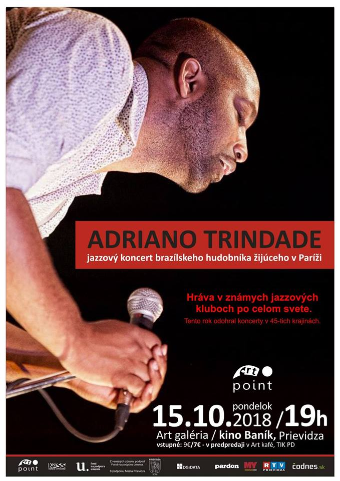 Adriano Trindade - jazzový koncert