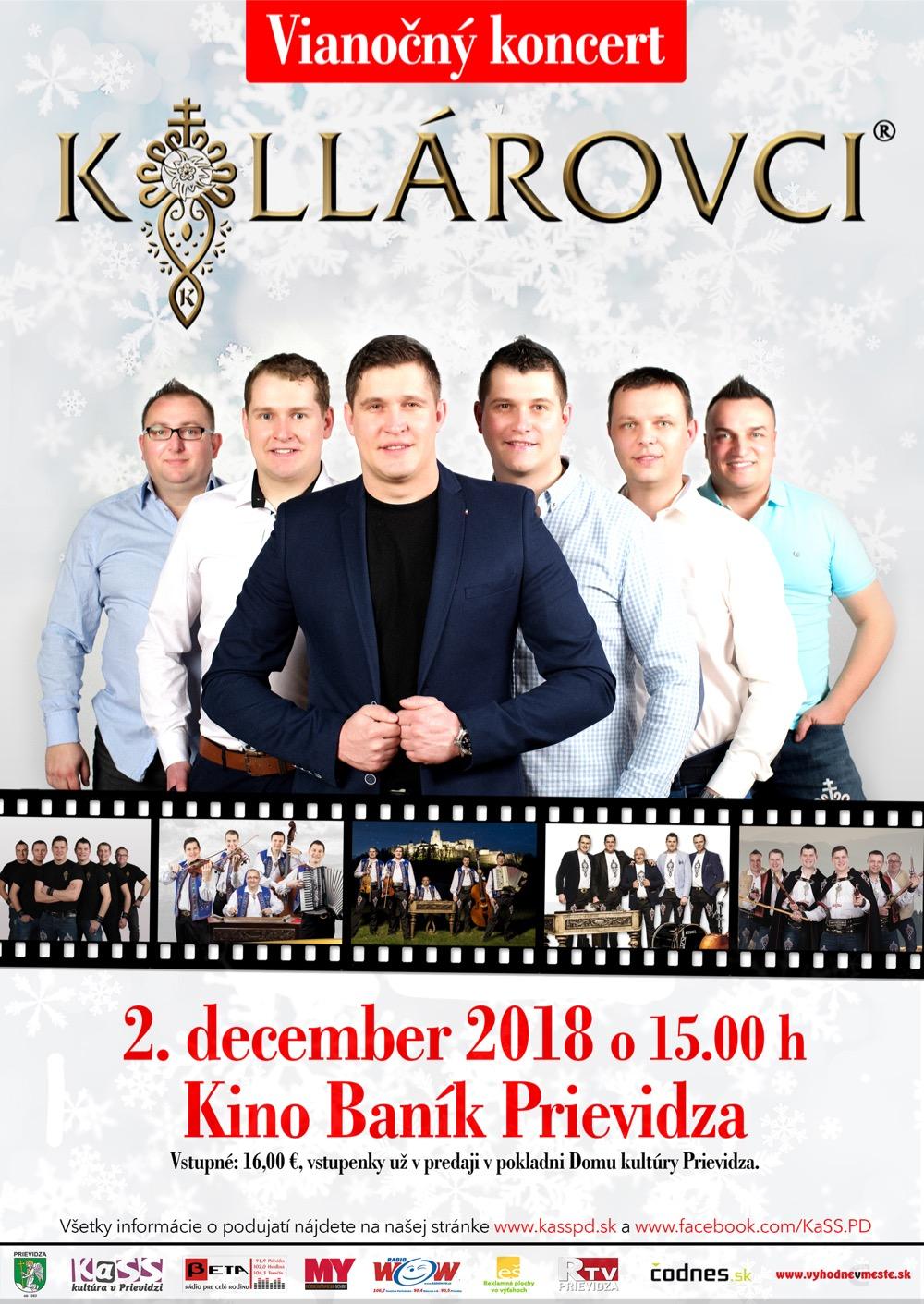 Kollárovci - Vianočný koncert