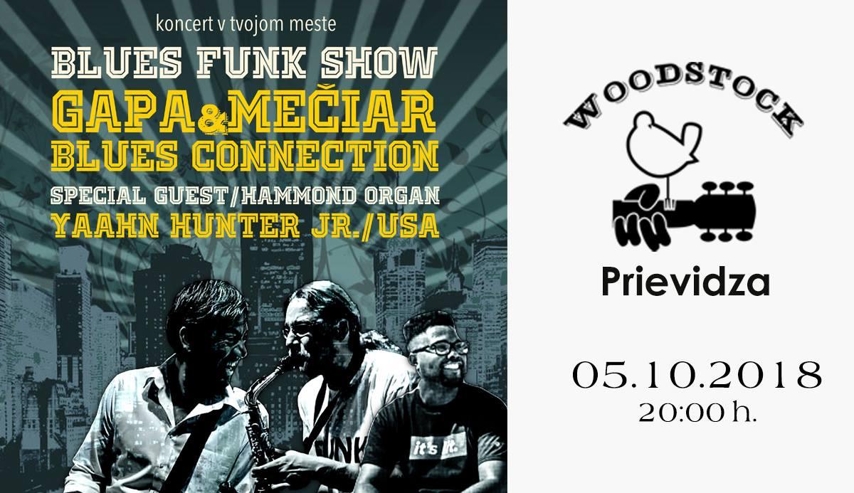 Blues funk show