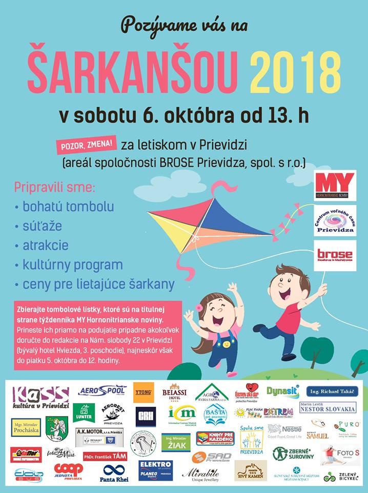 Šarkanšou 2018 - Prievidza