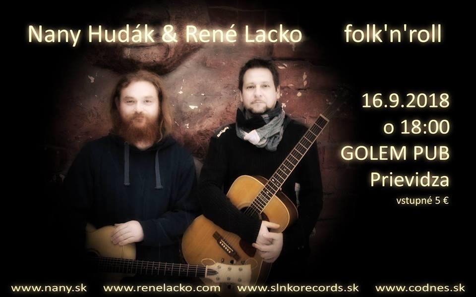 Nany Hudák & René Lacko / folk n roll