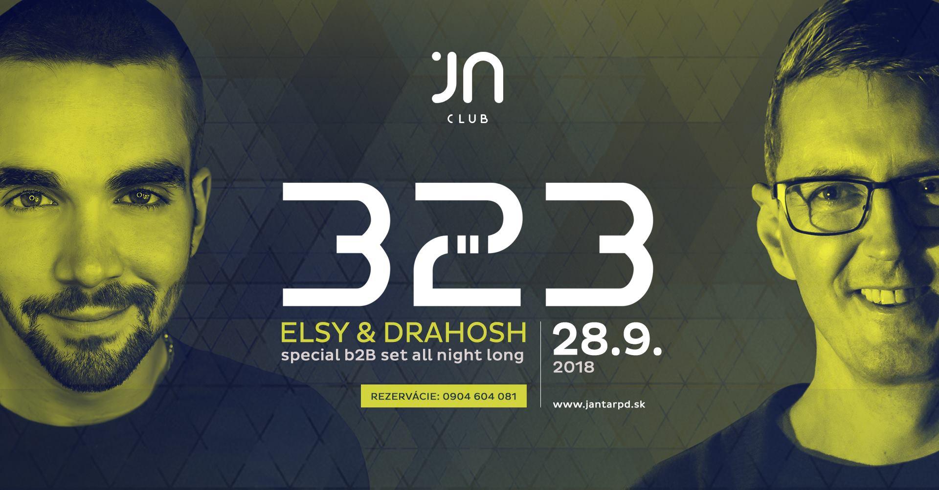 ELSY B2B Drahosh at Jantar Club
